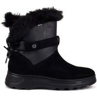 Shoes Women Snow boots Geox Hosmos Abx Black