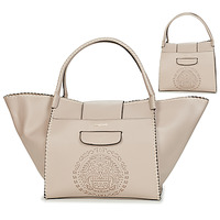 Bags Women Shopping Bags / Baskets Desigual TRIBAL ZARIA MEDIUM Beige