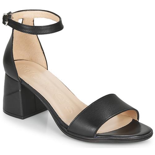 Shoes Women Sandals Wonders NATURE Black