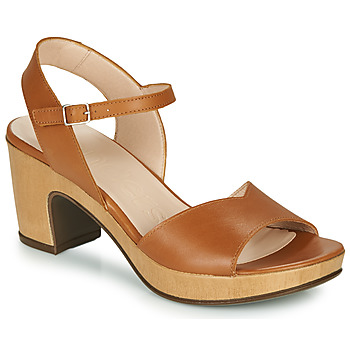 Shoes Women Sandals Wonders  Cognac