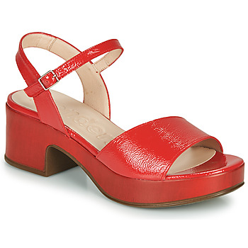 Shoes Women Sandals Wonders  Red