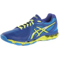 Shoes Men Multisport shoes Asics Gelnetburner Ballistic 4977 Blue, Celadon