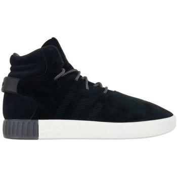 Shoes Men Hi top trainers adidas Originals Tubular Invader Black