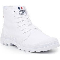 Shoes Men Mid boots Palladium Pampa HI OG White