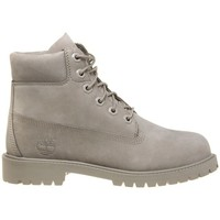 Shoes Children Mid boots Timberland 6IN Premium Junior Grey