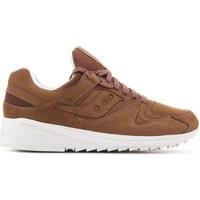 Shoes Men Derby Shoes & Brogues Saucony Grid 8500 HT Brown