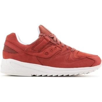 Shoes Men Derby Shoes & Brogues Saucony Grid 8500 HT Red