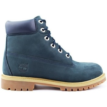 Shoes Children Mid boots Timberland 6 Premium Waterproof Navy Blue
