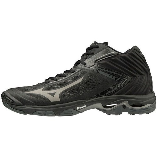 Shoes Men Derby Shoes & Brogues Mizuno Wave Lightning Z5 Mid Black