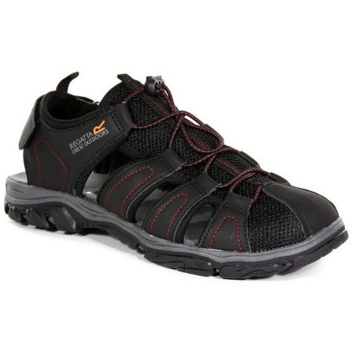 Shoes Men Outdoor sandals Regatta Westshore II Walking Sandals Black Black