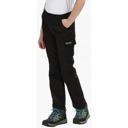 Clothing Children Trousers Regatta Kids Winter Stretch Softshell Walking Trousers Black