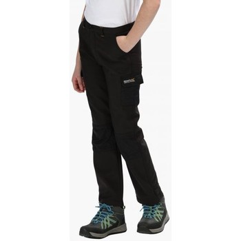 Clothing Children Trousers Regatta Kids Winter Stretch Softshell Trousers Black Black