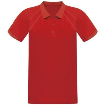 Clothing Men T-shirts & Polo shirts Professional COOLWEAVE Wicking Polo TShirt Silver Grey Red Red
