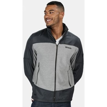 Clothing Men Fleeces Regatta Men's Zorian Full Zip Fleece Grey