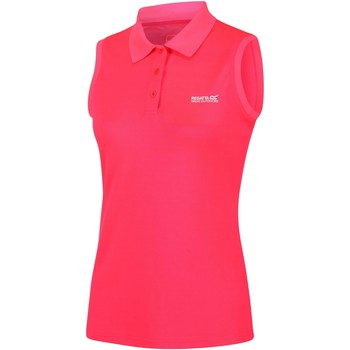 Clothing Women Short-sleeved polo shirts Regatta TIMA TShirt Pink