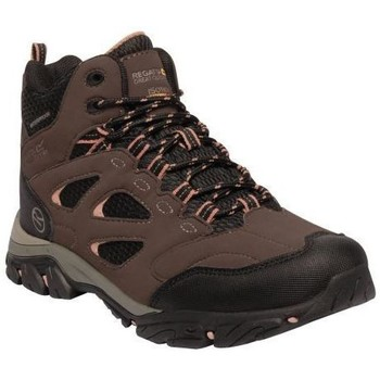 Shoes Women Boots Regatta Holcombe IEP Mid Walking Boots Brown Brown