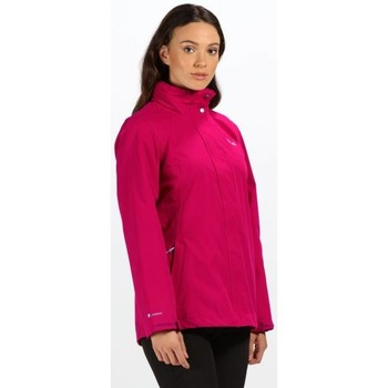 Clothing Women Jackets Regatta Daysha Lightweight Waterproof Jacket Pink Pink