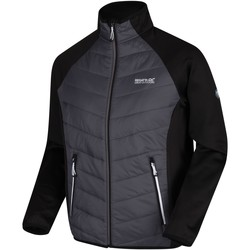 Clothing Men Macs Regatta Bestla Hybrid Lightweight Insulated Walking Jacket Black Black