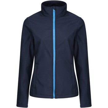 Clothing Track tops Professional Ablaze Printable Softshell Jacket Blue Blue