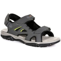 Shoes Men Outdoor sandals Regatta Holcombe Vent Sandals Grey Grey