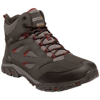 Shoes Men Walking shoes Regatta Holcombe IEP Mid Waterproof Walking Boots Grey Grey