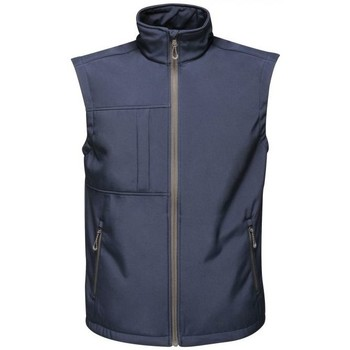 Clothing Men Jackets / Cardigans Professional OCTAGON Waterproof Bodywarmer Blue