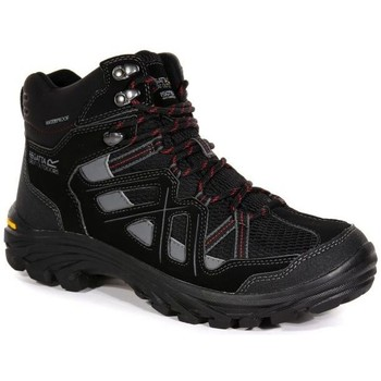 Shoes Men Walking shoes Regatta Burrell II Vibram Walking Boots Black Black
