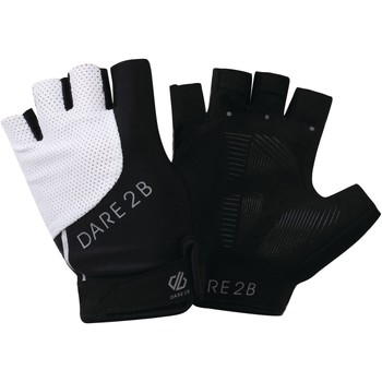 Clothes accessories Women Gloves Dare 2b FORCIBLE Technical Fingerless Gloves Black White Black Black