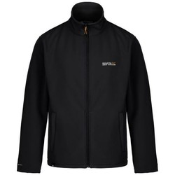 Clothing Men Jackets Regatta Men's Cera III Funnel Neck Softshell Jacket Black