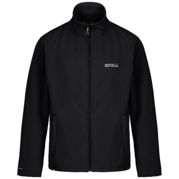 Clothing Men Jackets Regatta Cera III Funnel Neck Softshell Jacket Black Black