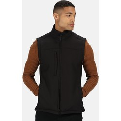 Clothing Men Jackets / Cardigans Professional FLUX Soft-Shell Bodywarmer Black