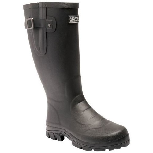 Shoes Men Mid boots Regatta RIVINGTON Wellingtons Black