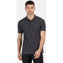 Clothing Men Short-sleeved polo shirts Professional CLASSIC PolyCotton Polo TShirt Grey