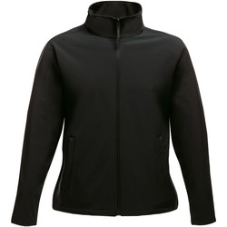 Clothing Women Track tops Professional ABLAZE Printable Softshell Jacket Black
