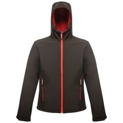 Clothing Men coats Professional Arley II Printable Hooded Softshell Jacket Red Red