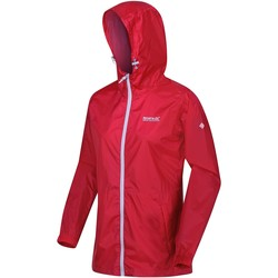 Clothing Women Macs Regatta PACK-IT III Waterproof Shell Jacket Pink