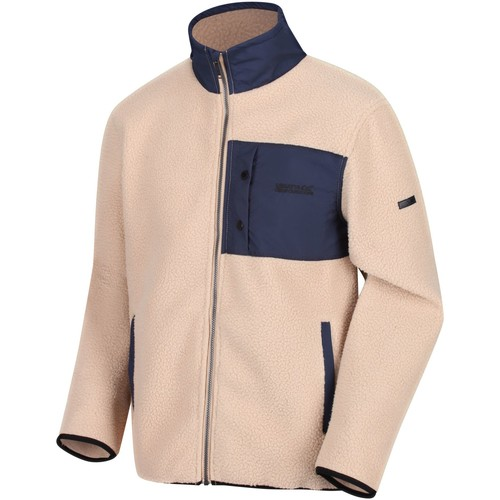 Clothing Men Fleeces Regatta Cayo Heavyweight Full Zip Fleece Brown Brown