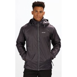 Clothing Men Coats Regatta LYLE IV Waterproof Shell Jacket Oxford Blue Grey Grey