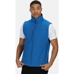 Clothing Men coats Professional Flux Softshell Body Warmer Blue Blue