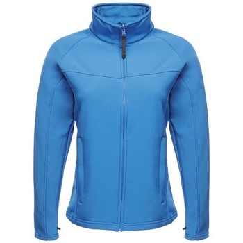 Clothing Women Coats Professional UPROAR Interactive Softshell Jacket Black Blue Blue
