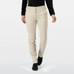 Clothing Women Trousers Regatta QUERINA Cotton Chinos Beige