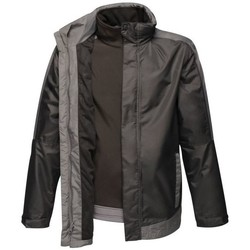 Clothing Men Coats Professional CONTRAST 3in1 Waterproof Jacket Black