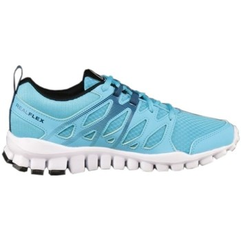Shoes Women Low top trainers Reebok Sport Realflex Train 40 Light blue
