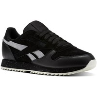 Shoes Men Low top trainers Reebok Sport Classic Leather Ripple SM Black