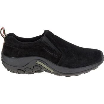 Shoes Men Derby Shoes & Brogues Merrell Jungle Moc Black