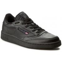 Shoes Men Low top trainers Reebok Sport Club C 85 Black