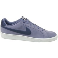 Shoes Men Low top trainers Nike Court Royale Suede Navy blue