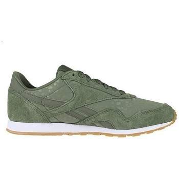 Shoes Women Low top trainers Reebok Sport CL Nylon Slim Txt L Green