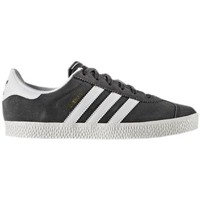 Shoes Children Low top trainers adidas Originals Gazelle 2 J Graphite,White