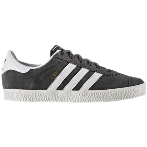 Shoes Children Low top trainers adidas Originals Gazelle 2 J White, Graphite